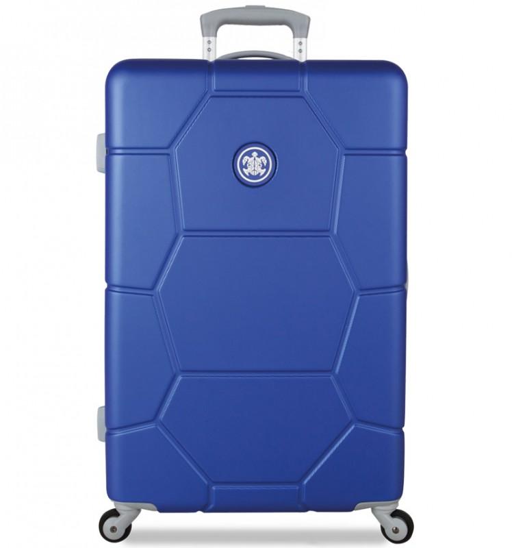SuitSuit CARETTA Cestovní kufr z ABS 65 cm (Dazzling Blue)