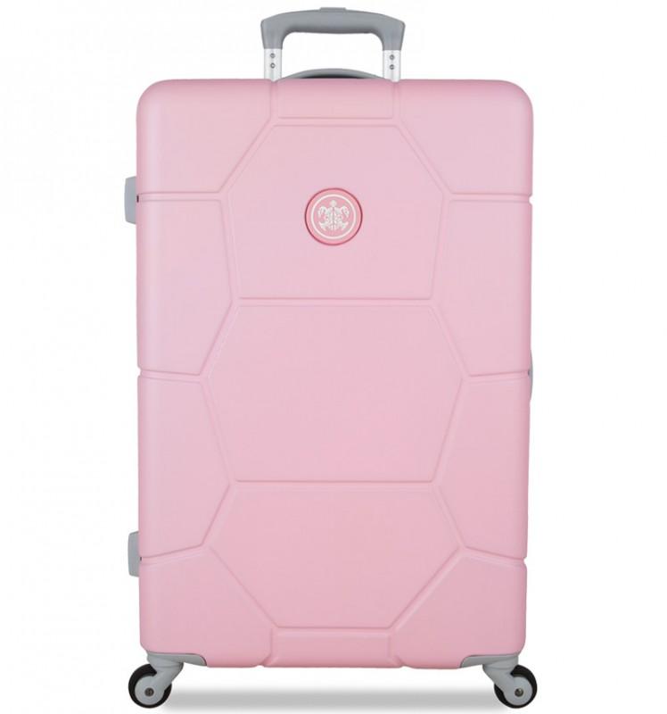 SuitSuit CARETTA Cestovní kufr z ABS 65 cm (Pink Lady)