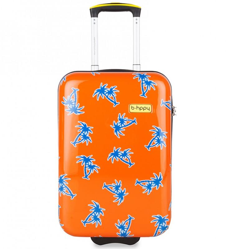 B.HPPY Designový kabinový kufr 52cm - GoGoNuts