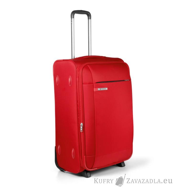 Carlton TITANIUM Expandable Trolley Case 65cm (červená)