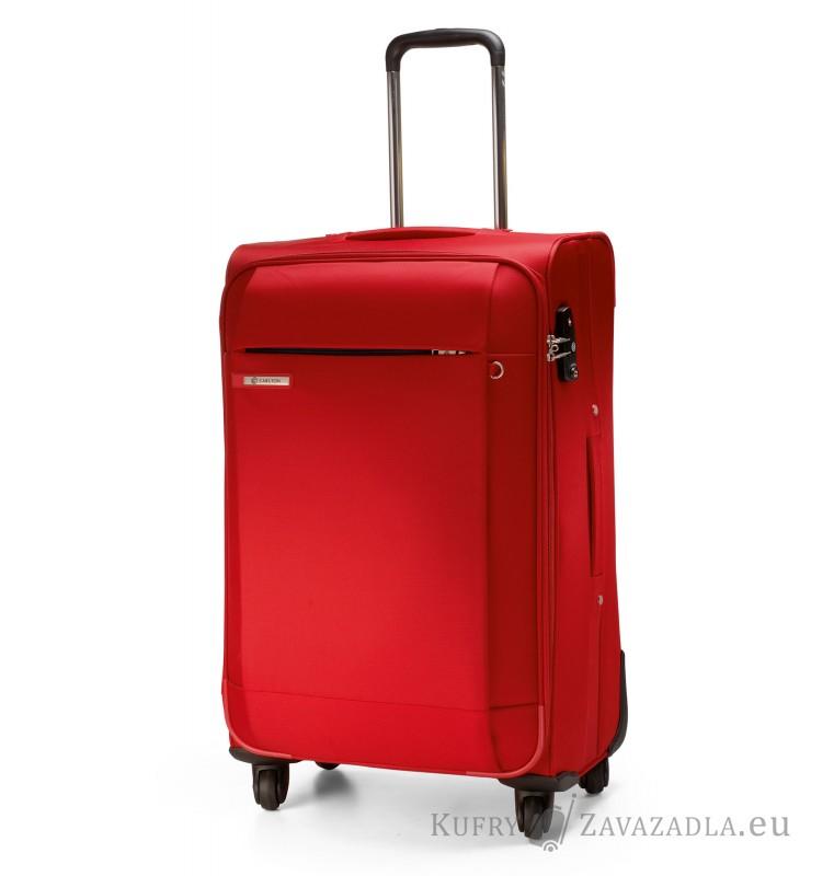 Carlton TITANIUM Spinner Trolley Case 68cm (červená)
