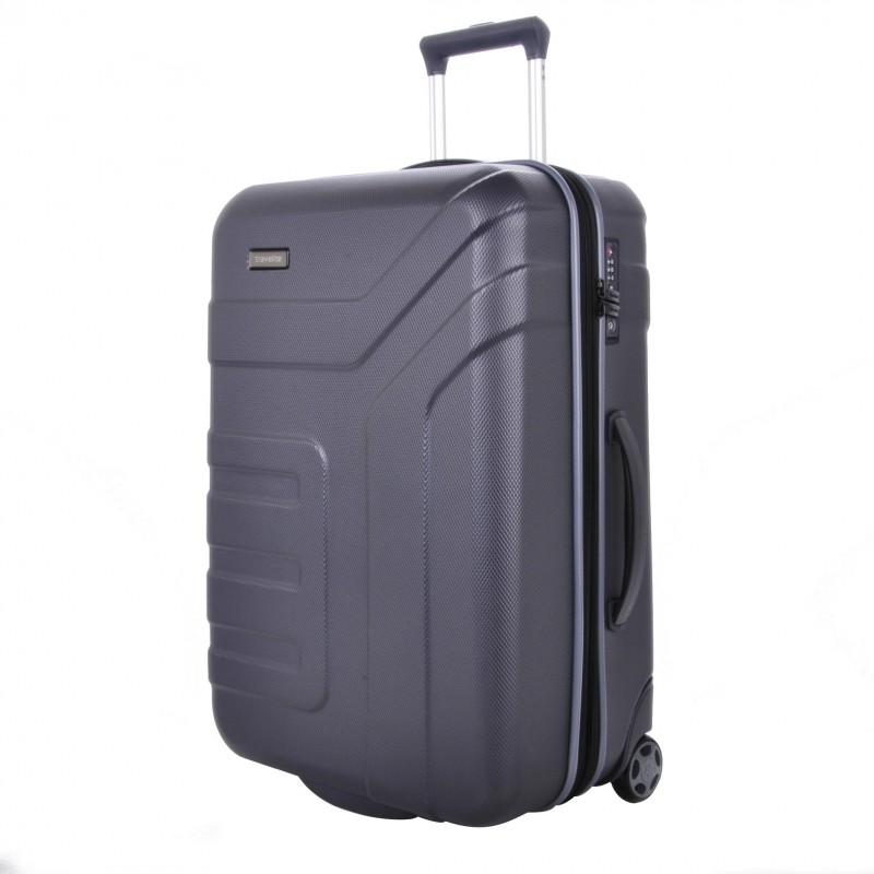 Travelite VECTOR Moderní dvoukolečkový kufr z ABS 73 cm (Anthracite)