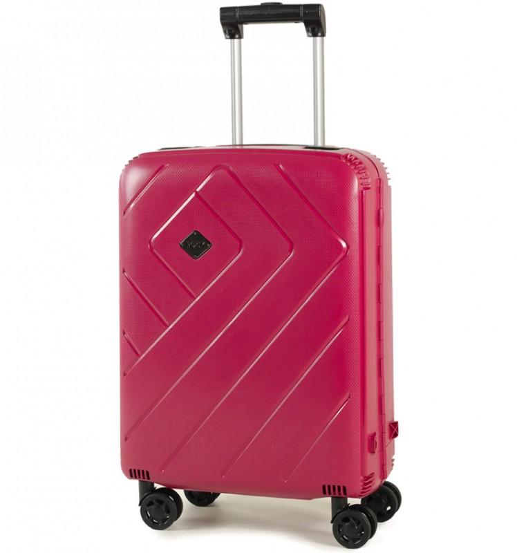 Rock SHIELD Bezzipový palubní kufr 56cm (burgundy)