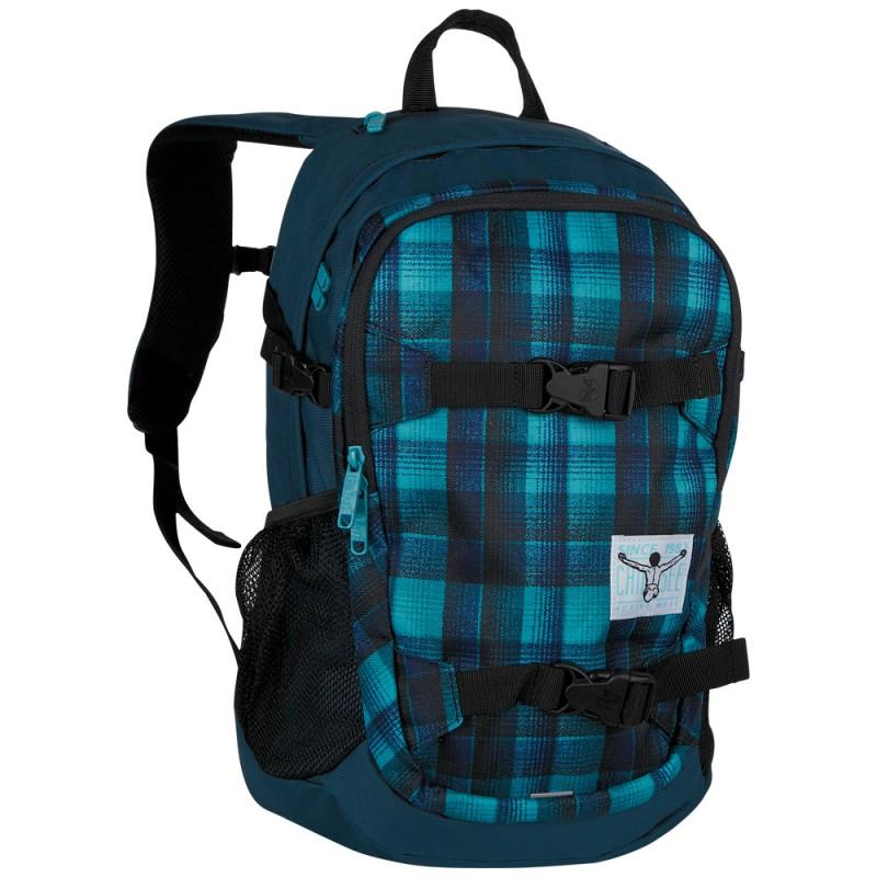 Chiemsee W16 Studentský batoh na NTB 15 - Checky chan blue