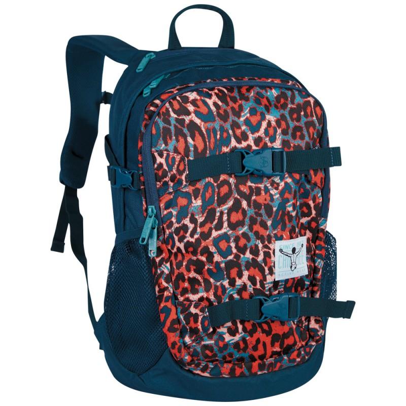 Chiemsee W16 Studentský batoh na NTB 15 - Mega flow blue