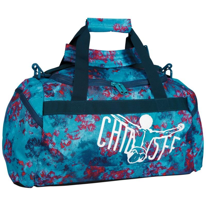 Chiemsee MATCHBAG Sportovní taška M - Dusty flowers