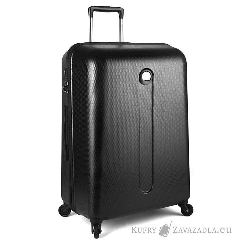 Delsey HELIUM Kabinový kufr 4 kolečka SLIM 54 cm (černý)