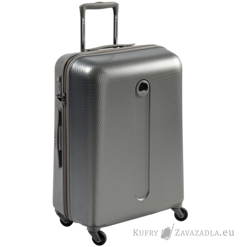 Delsey HELIUM Kabinový kufr 4 kolečka SLIM 54 cm (šedý)