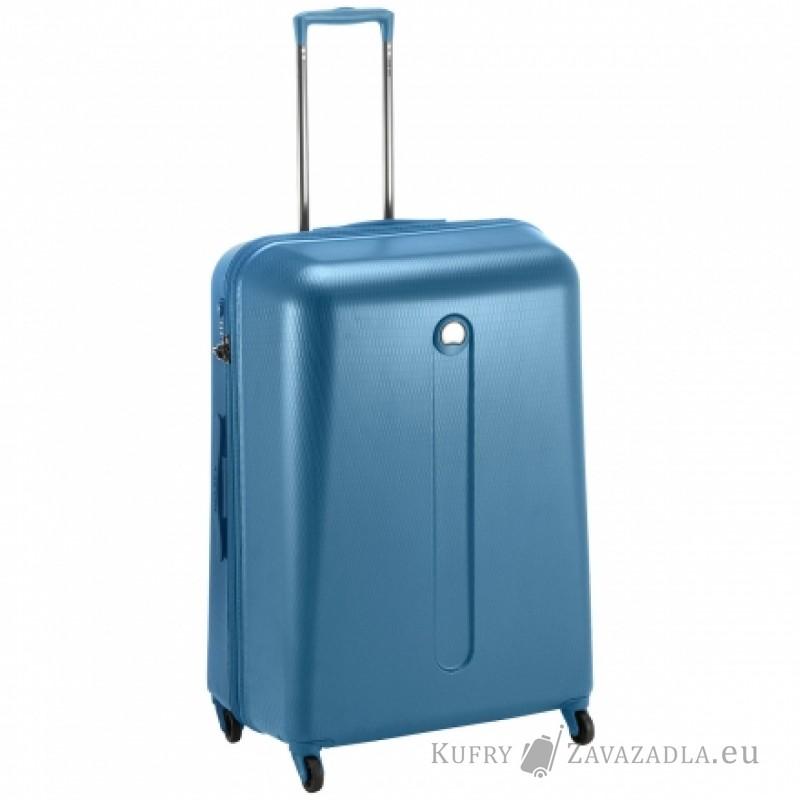 Delsey HELIUM Kabinový kufr 4 kolečka SLIM 54 cm (modrý)