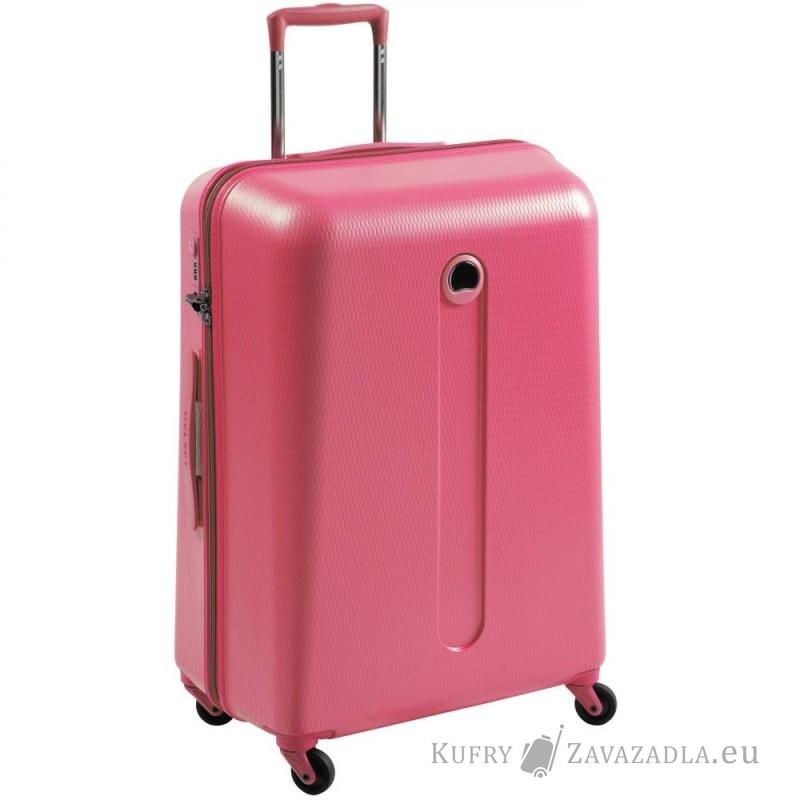 Delsey HELIUM Kabinový kufr 4 kolečka 55 cm (růžový)