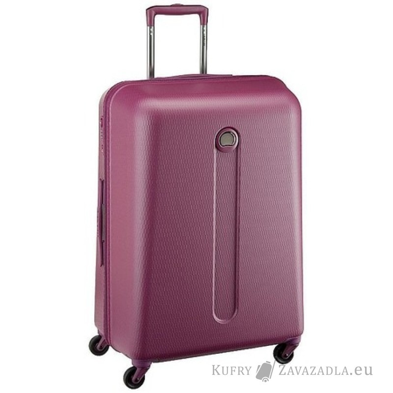 Delsey HELIUM Kabinový kufr 4 kolečka SLIM 54 cm (fialový)