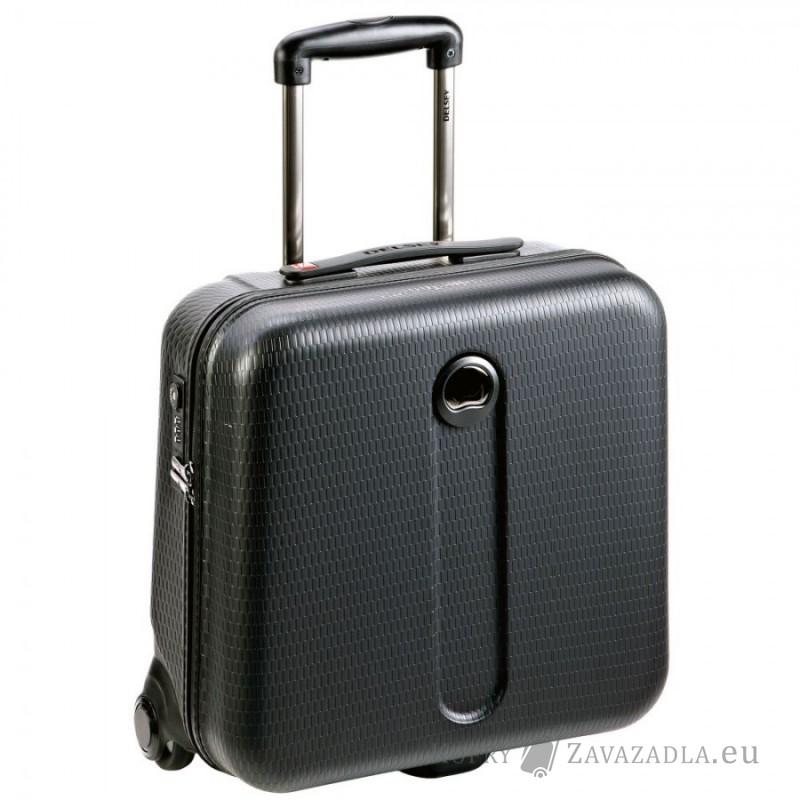 Delsey HELIUM Kabinový pilotní kufr s PC ochranou (černý)