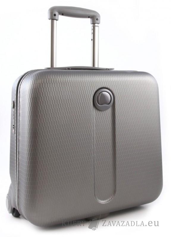 Delsey HELIUM Kabinový pilotní kufr s PC ochranou (šedý)