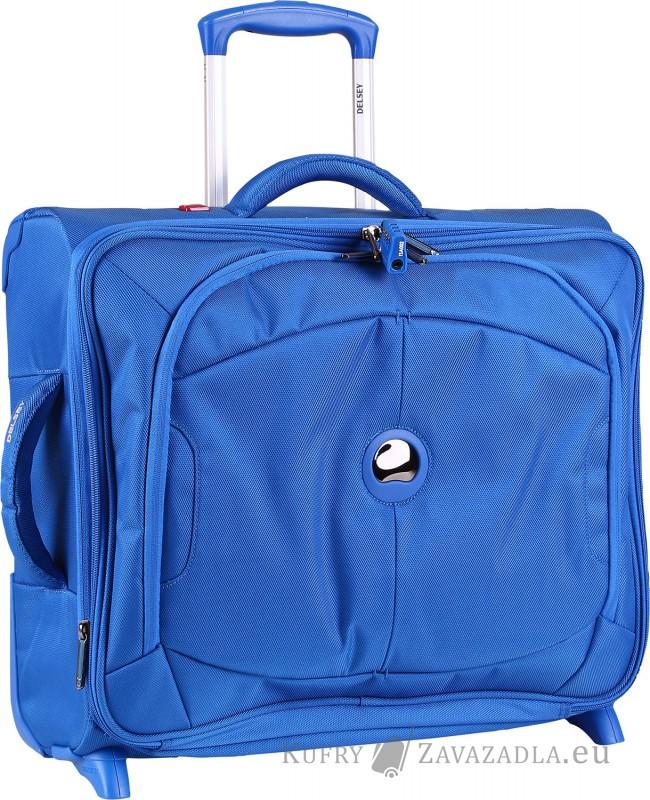 Delsey U-LITE Kabinový horizontální kufr expandable 2 kolečka (modrý)
