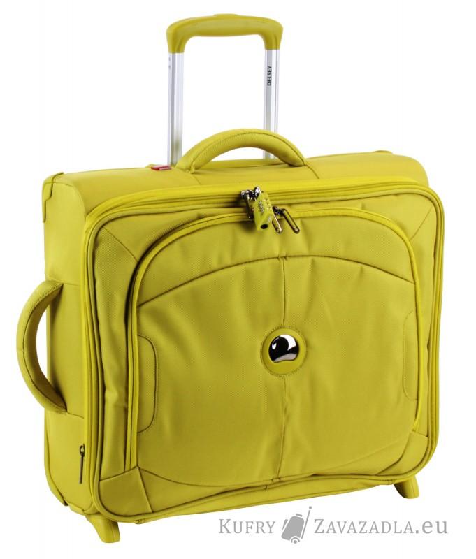 Delsey U-LITE Kabinový horizontální kufr expandable 2 kolečka (lime)