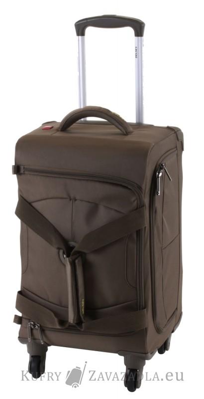 Delsey U-LITE Cestovní taška kabinová trolley 4 kolečka 55 cm (Iguana)