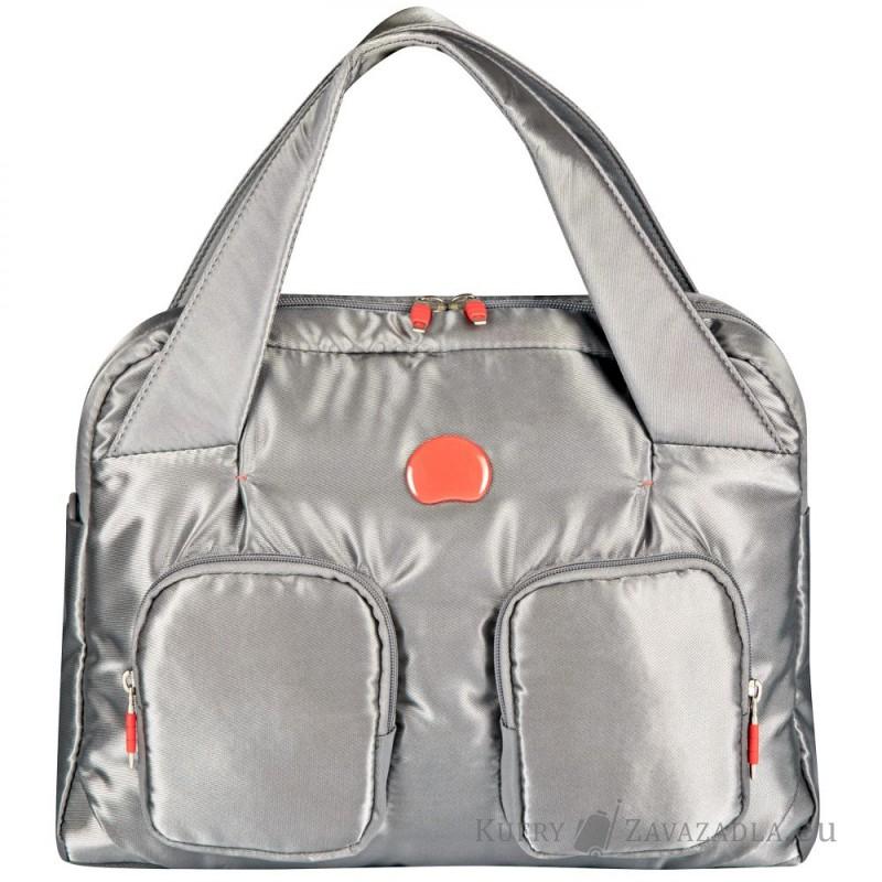 Delsey FOR ONCE Dámská taška do ruky (stříbrněšedá)