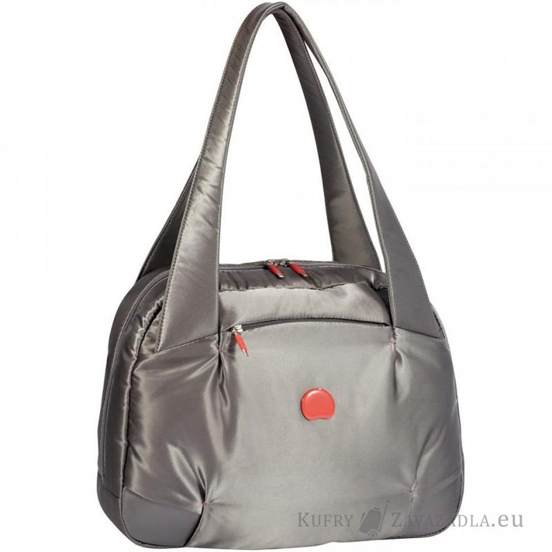 Delsey FOR ONCE Dámská jednokomorová taška přes rameno (stříbrněšedá)