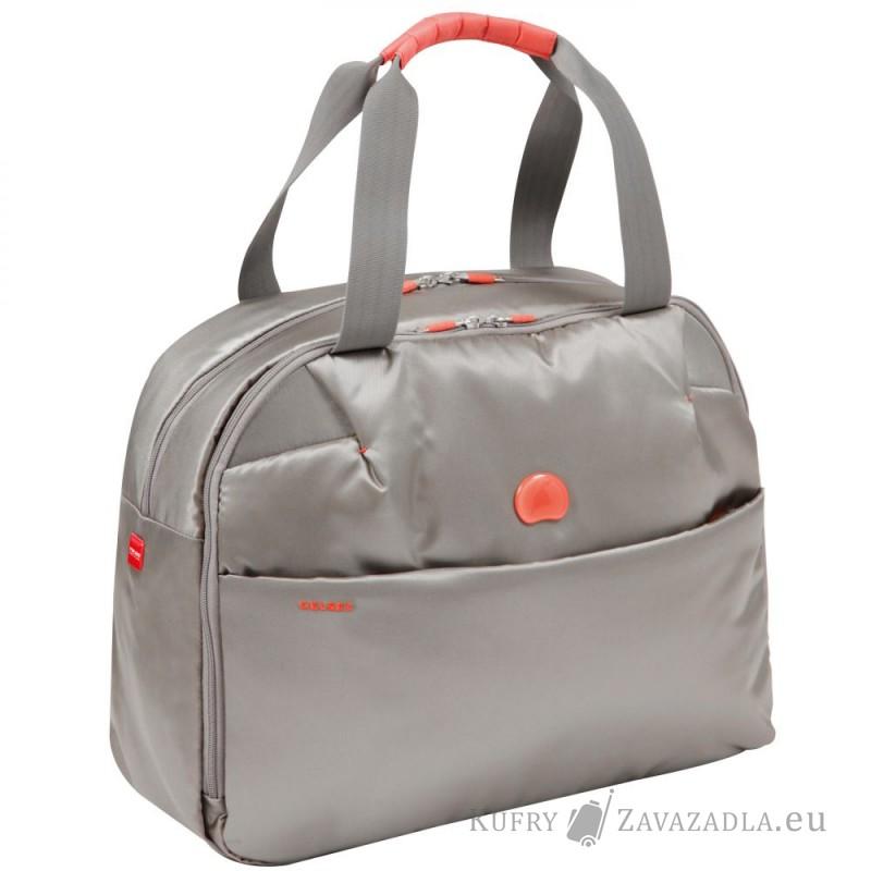 Delsey FOR ONCE Dámská taška s PC ochranou (stříbrněšedá)