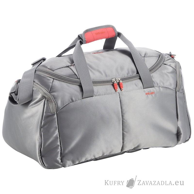 Delsey FOR ONCE Cestovní kabinová taška 52cm (stříbrněšedá)