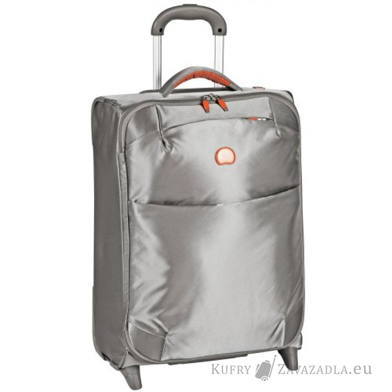 Delsey FOR ONCE Kabinový kufr 2 kolečka SLIM 55 cm (stříbrněšedá)