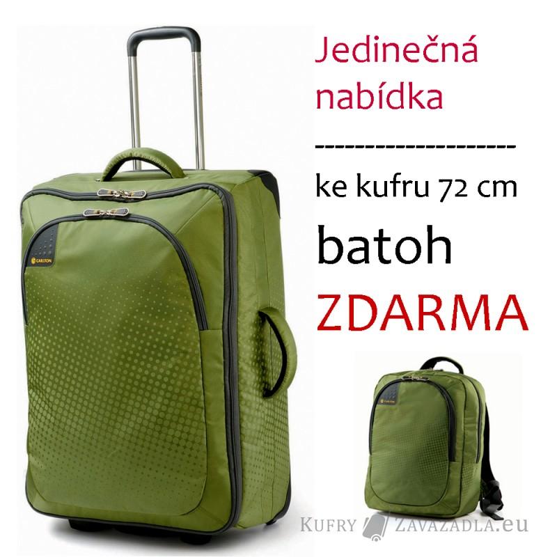 Carlton TRIBE Trolley Case 72cm (zelená) + batoh (zelený)