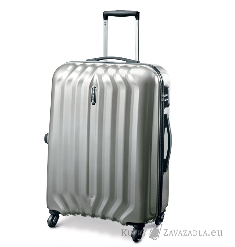 Carlton SONAR Spinner Trolley Case 55cm (stříbrný)