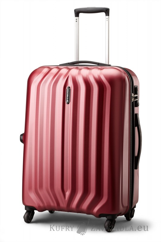 Carlton SONAR Spinner Trolley Case 67cm (červený)