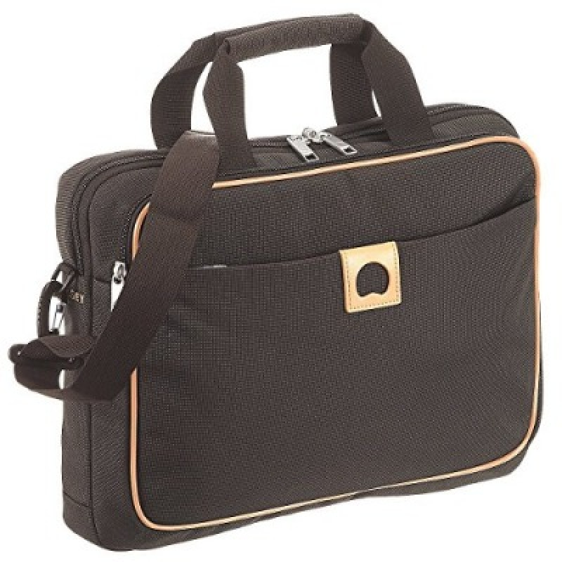 Delsey MONTHOLON Dvoukomorová aktovka na PC 15,6 (Brown)