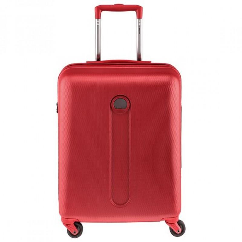 Delsey HELIUM Kabinový kufr 4 kolečka 55 cm (červený)