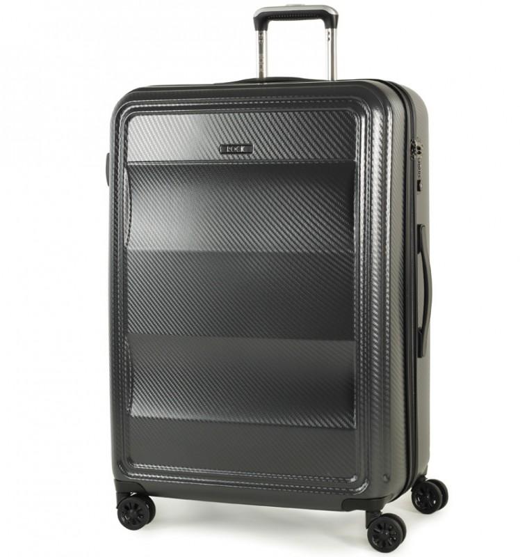 Rock AMETHYST Velký cestovní kufr na zdvojených kolečkách 74cm (charcoal)