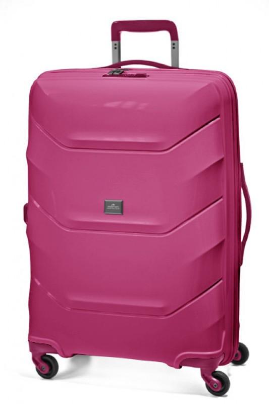 March VIENNA Velký kufr 77cm (Raspberry)