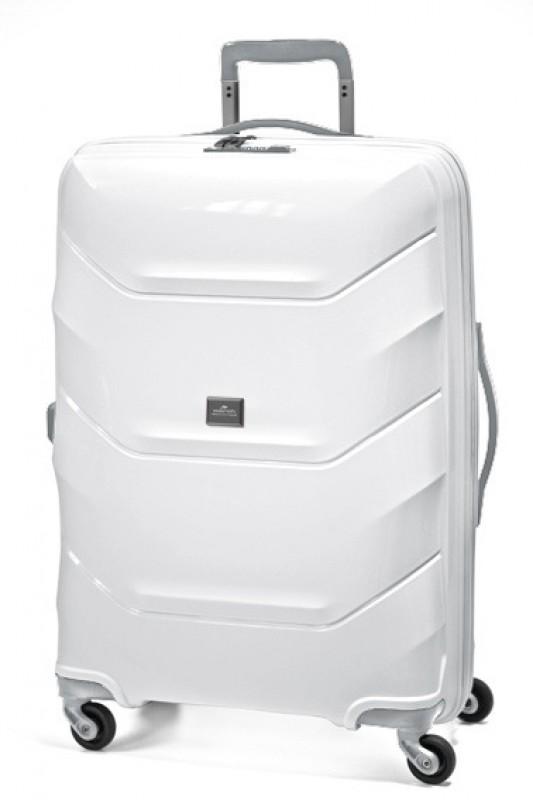 March VIENNA Středně velký kufr 66cm (White)