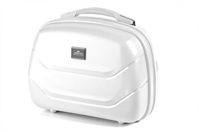 March VIENNA Kosmetický kufřík (White)