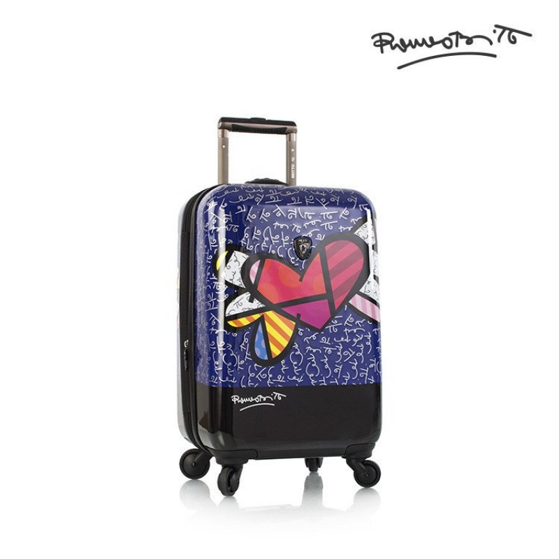 Heys BRITTO HEART WITH WINGS Luxusní designový kufr, 53cm