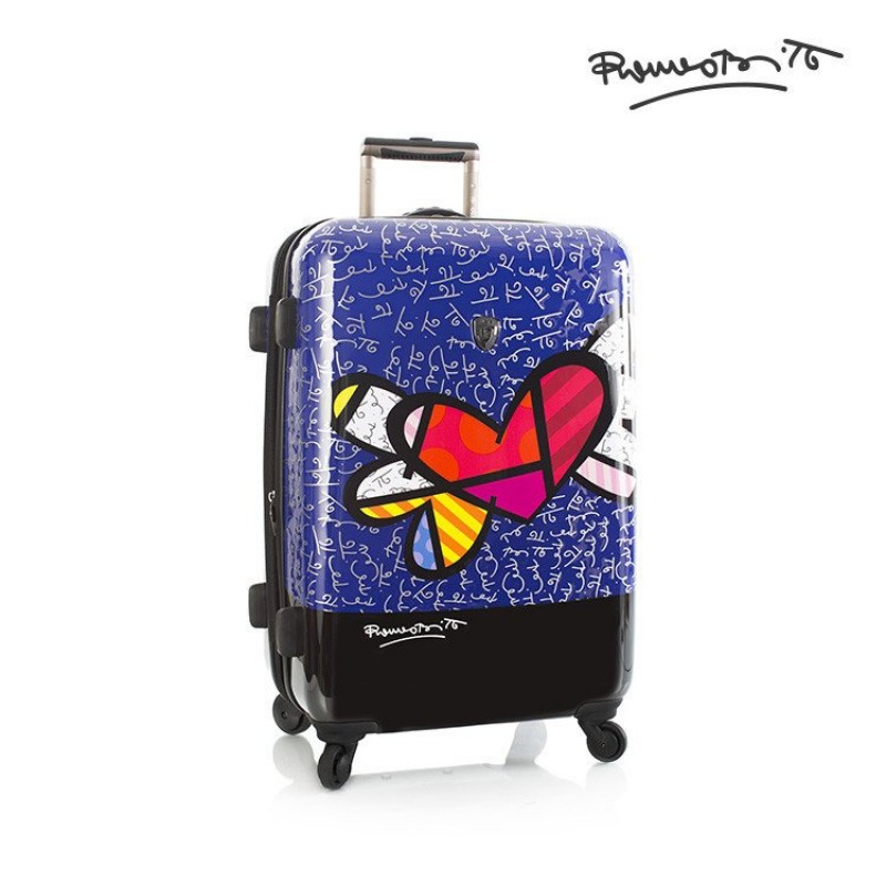 Heys BRITTO HEART WITH WINGS Luxusní designový kufr, 66cm