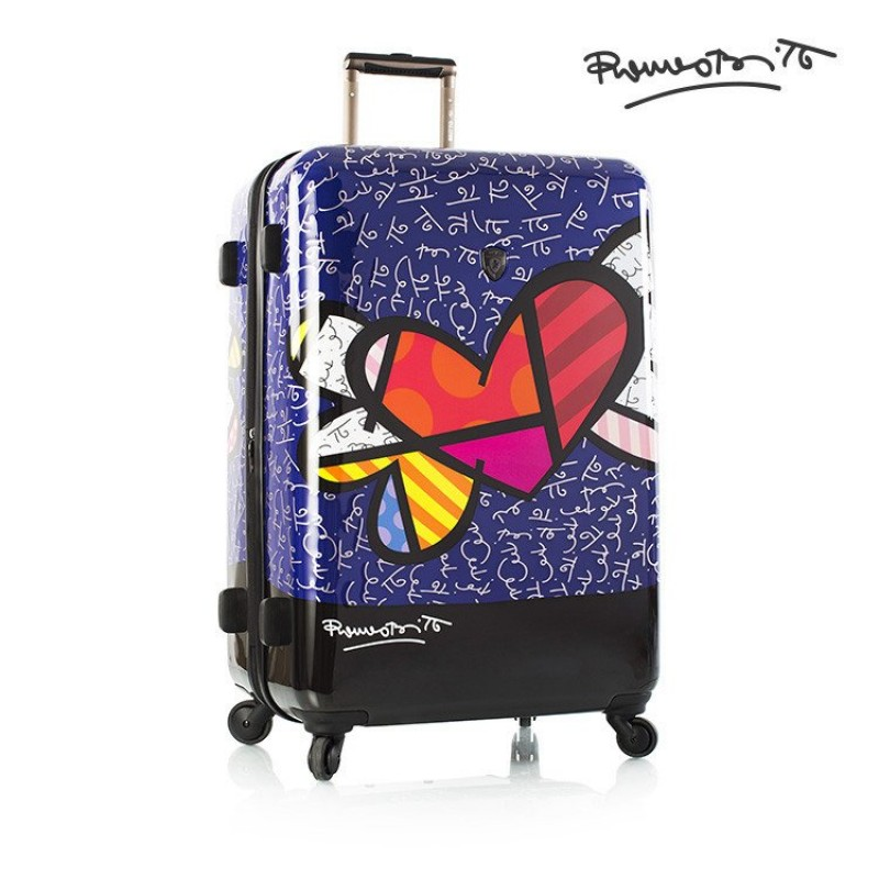 Heys BRITTO HEART WITH WINGS Luxusní designový kufr, 76cm