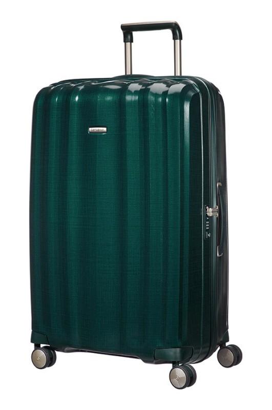 Samsonite LITE-CUBE Spinner velký plastová kufr 82 cm (Tmavá zelená)