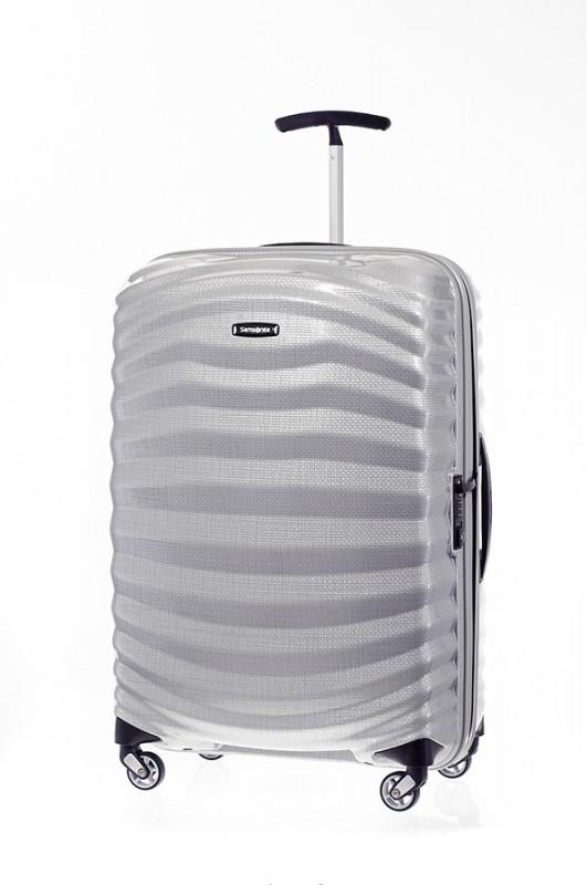 Samsonite LITE SHOCK Spinner ultra lehký cestovní kufr 69cm (Stříbrná)