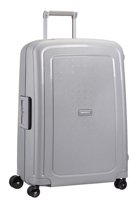 Samsonite S´CURE Spinner lehký cestovní kufr 69cm (Silver)