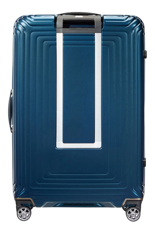 samsonite spinner 75 28 neopulse metalic blue kufry. Black Bedroom Furniture Sets. Home Design Ideas