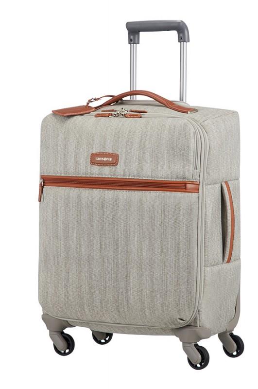 Samsonite LITE DLX Luxusní kabinový kufr (Ash grey)