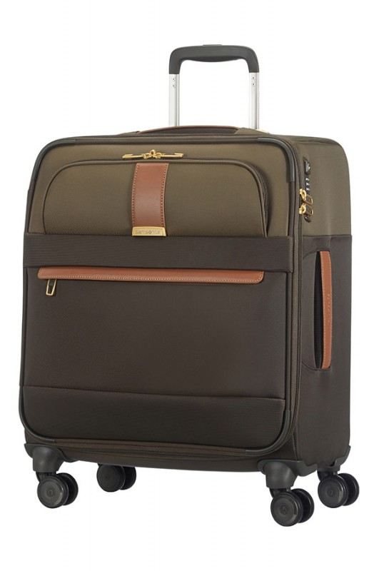Samsonite STREAMLIFE Spinner palubní kufr 56cm (Olive/Cognac)