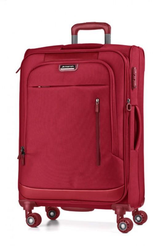 March ROLLING Rozšířitelný velký nylonový kufr 78cm L (Red)