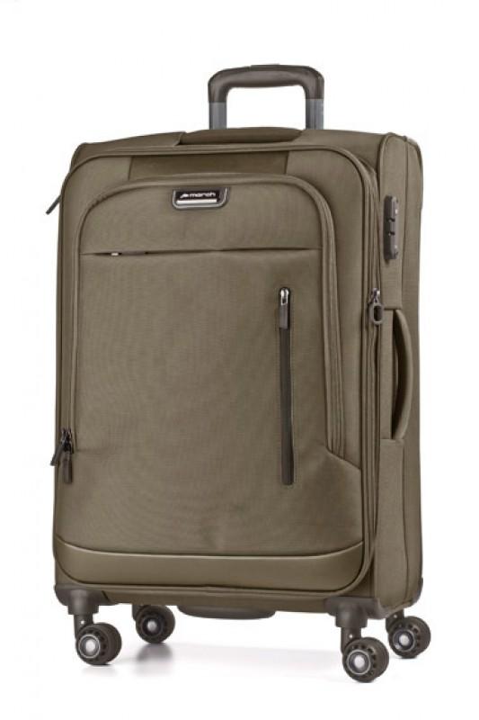 March ROLLING Rozšířitelný nylonový kufr 68cm M (Bronze)