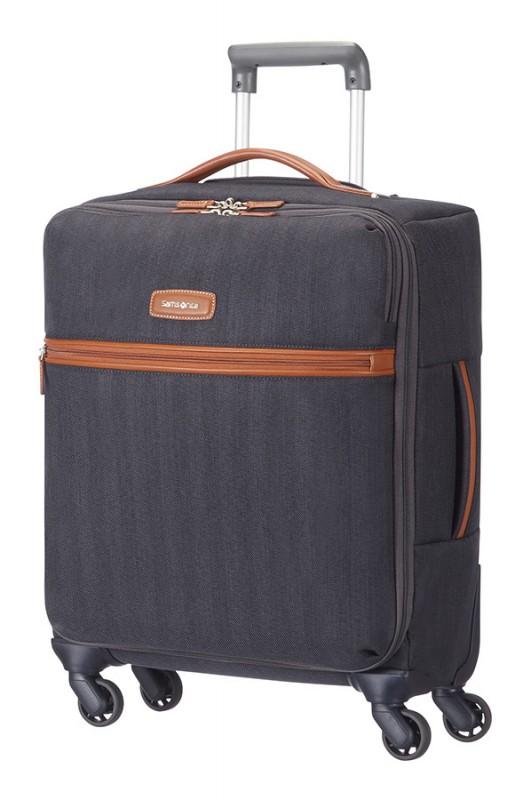 Samsonite LITE DLX Luxusní kabinový kufr (Midnight blue)