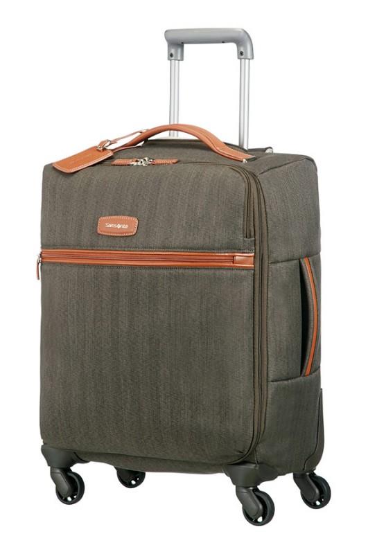 Samsonite LITE DLX Luxusní kabinový kufr (Dark Olive)