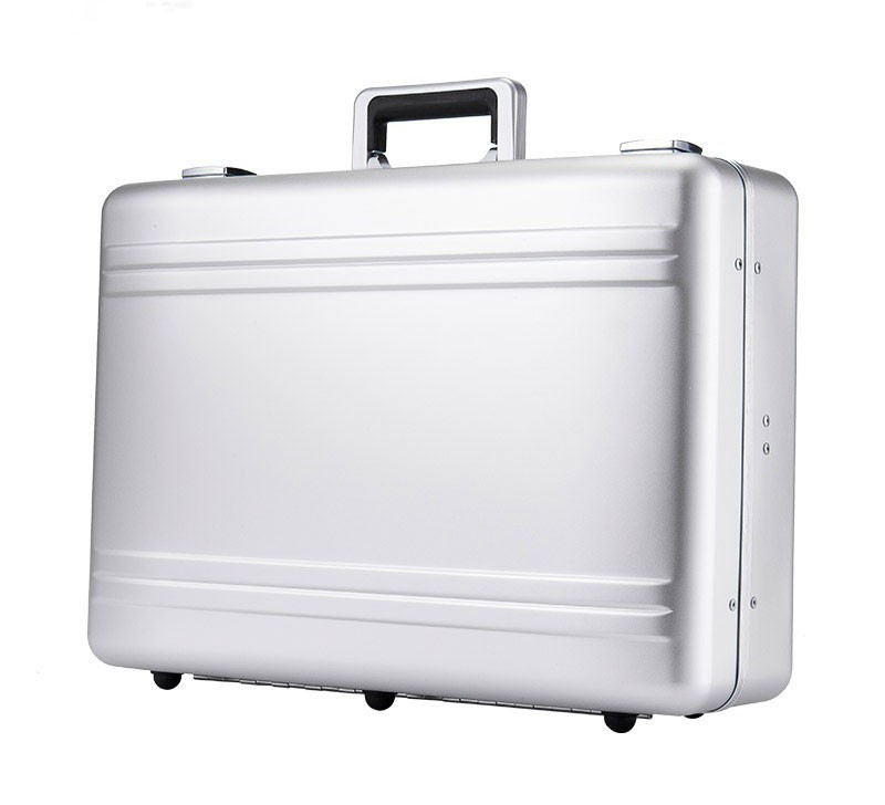 KUZA Business Briefcase (Silver)