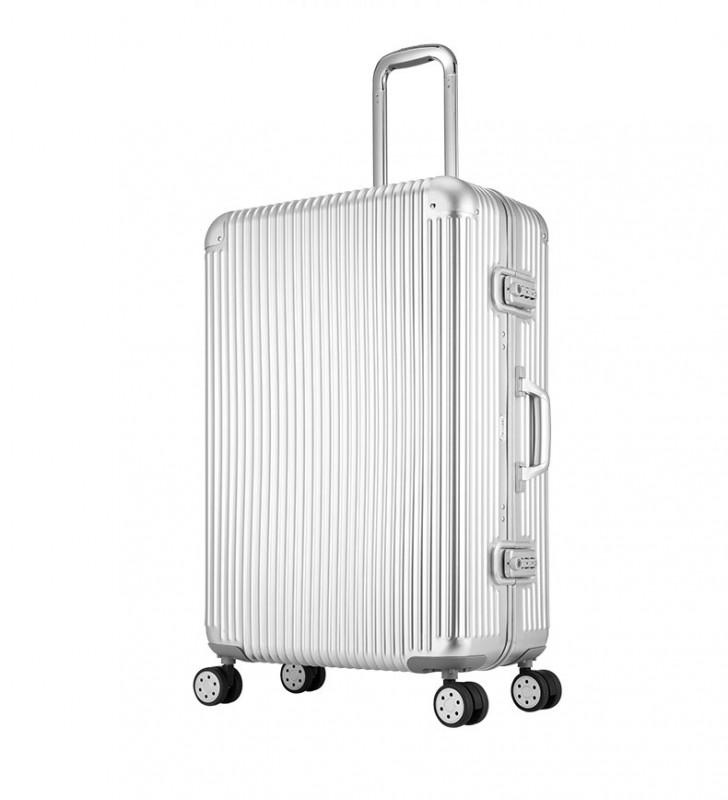KUZA Alu Luggage 20 (Silver)