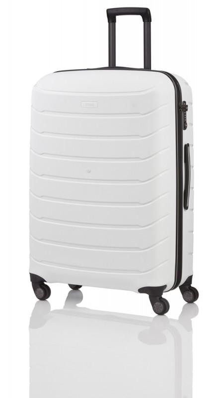 Titan LIMIT Velmi odolný rozšířitelný skořepinový kufr 77cm (White)